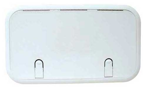 Hatch Cover Marine Boat Designer Series 11 Inch x 19 Inch Polar White