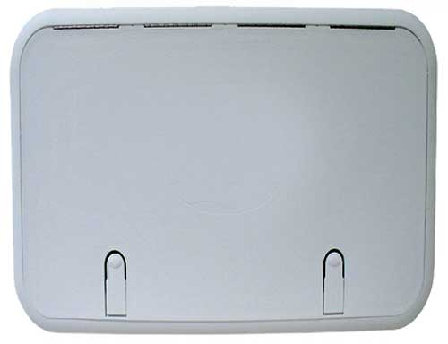 Boat Hatch Designer Series 16 Inch x 20 Inch Polar White