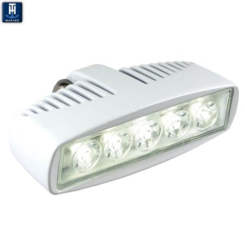 super spreader flood light white housing 1150 lumens. Black Bedroom Furniture Sets. Home Design Ideas