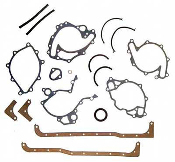 Gasket Lower Set Marine 351 5.8L Ford SB V8 PCM Indmar OMC Volvo Mercruiser