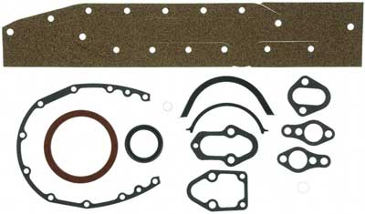 Gasket Set Lower Assembly for GM 262 4.3L V6 2pc Rear Main Seal no balance shaft