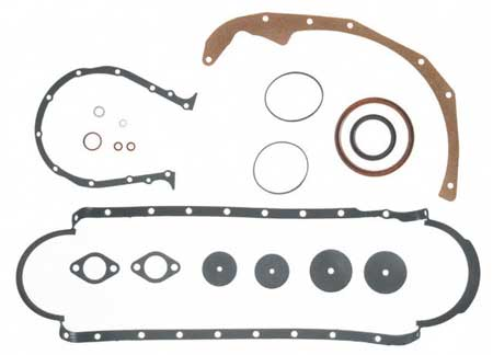 Gasket Lower Set Marine GM 502 8.2L Gen 5 Big Block V8 1992 Up