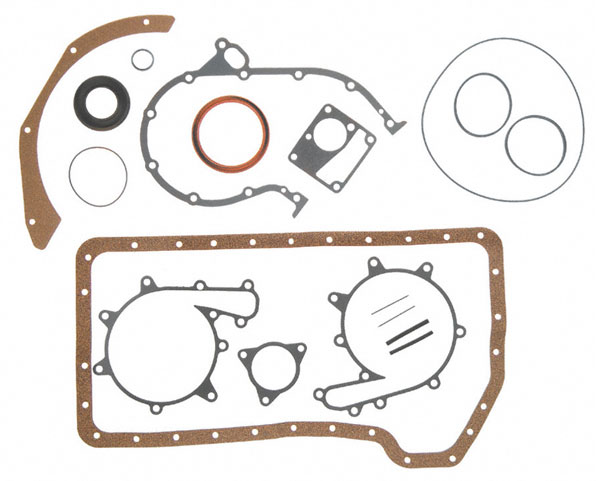 Gasket Lower Set for Mercruiser 4 Cylinder 3.7L 224 165 170 190 470 485
