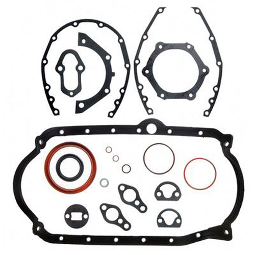 Lower Gasket Assembly Set for GM 4.3L 262 cid V6 with 1-Piece Rear Seal