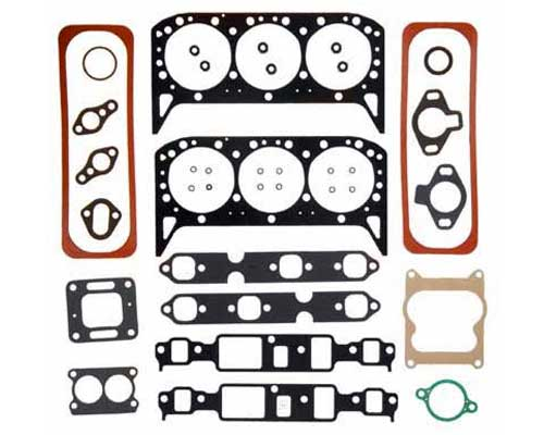 Gasket Head Set Marine 4.3L 262 CID GM V6 for 12 Bolt Intake