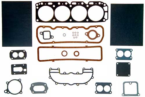 Gasket Head Set Marine for 3.0L 181 CID GM 4 Cyl Mercruiser OMC Volvo