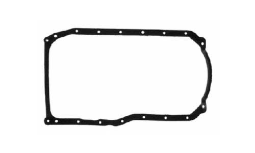 Gasket Oil Pan Set Marine 3.0L 181 GM 4 Cylinder 1 Piece Rear Seal 1990 Up
