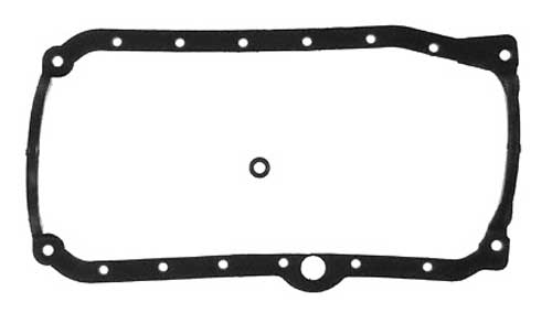 Gasket Oil Pan Marine GM 262 4.3L V6 for 1 Piece Seal Seal and Steel Oil Pan