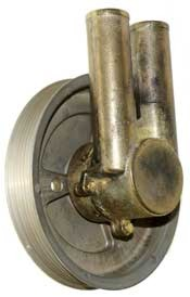 Seawater Pump, Volvo 3.0L, Serpentine Pulley