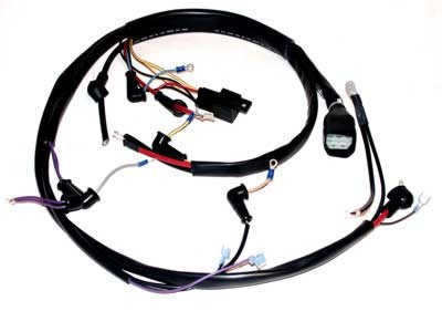wiring harnesses marine engine parts fishing tackle basic rh bpi ebasicpower com volvo wiring harness 298 made great britain volvo 1800 wiring harness