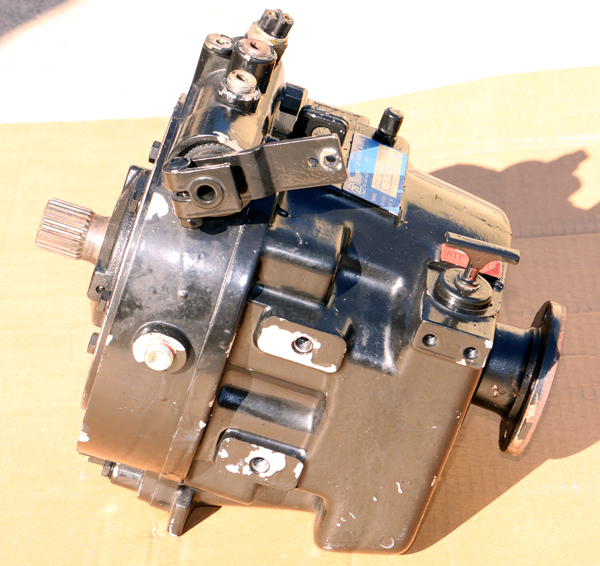 Hurth ZF 450D Direct Drive Transmission 1:1 Great Working Takeout