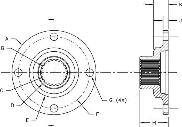Shaft Coupling Illustrations