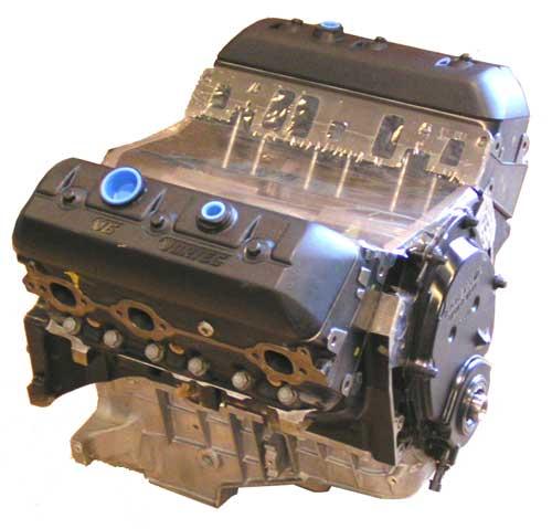 Eagle Marine New Vortec 4.3L V6 Long Block Engines ...