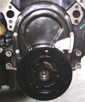V Lb Timingcover on Marine 4 3 Vortec V6 Crate Engine