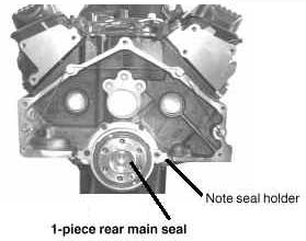 1 Piece Rear Main Seal
