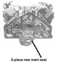 2 Piece Rear Main Seal