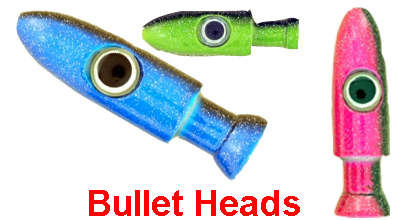 Bullet Heads for Trolling Lures