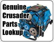 Crusader marine engine parts