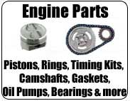 camshaft, piston, piston ring, main bearing set, crankshaft, connecting rod set, lifter, timing kit, oil pump