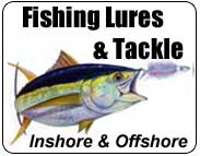 Fishing Tackle, Lures, Rods, Reels and Accessories