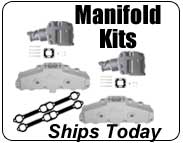 Marine Exhaust Manifold Kits for Mercruiser, OMC, Volvo Penta, Crusader, Pleasurecraft, Indmar and Barr Style