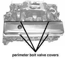 Perimeter Bolt Valve Covers