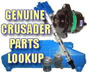 Find Your Genuine Crusader Parts Here