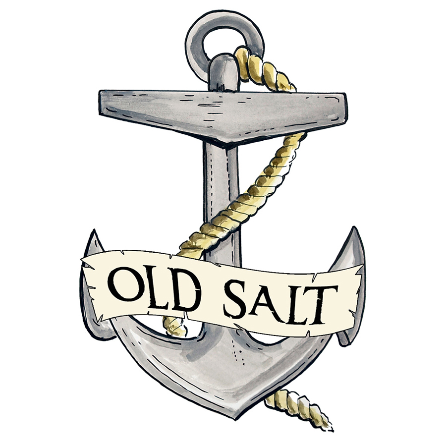 """Old Salt"" - Anchor"