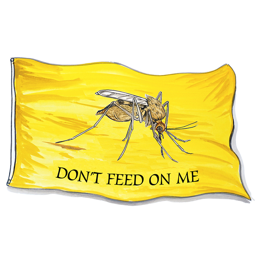 Don't Feed On Me - Mosquito