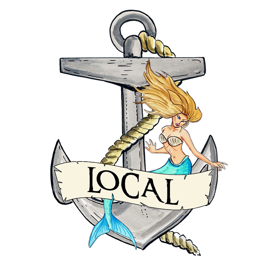 """Local"" - Anchor / Mermaid"