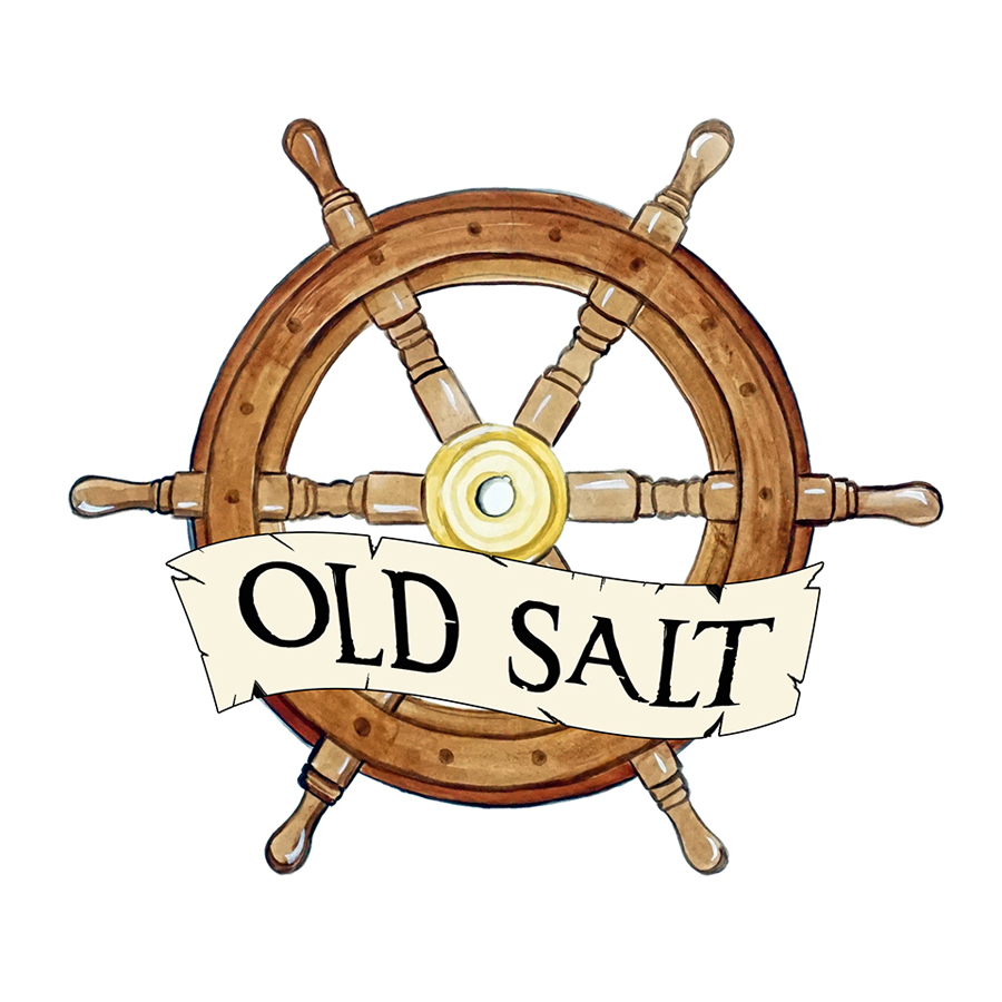 """Old Salt"" - Ship Wheel"