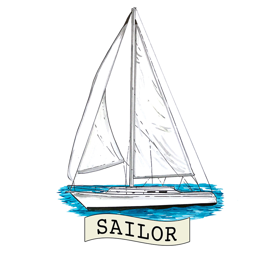 """Sailor"" - Sailboat"