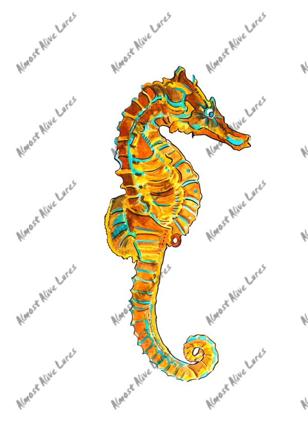 Beach Decals - Sea Horse