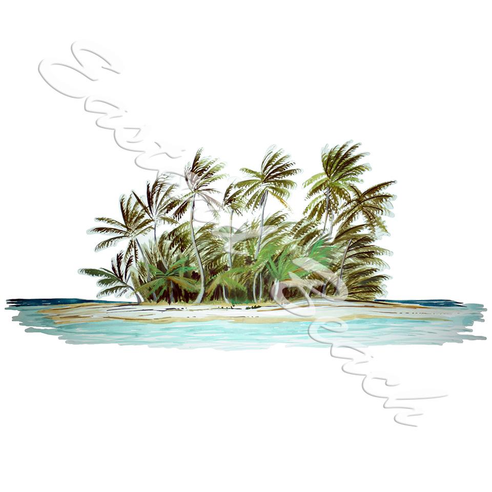 Tropical Island Larger Image