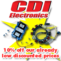 CDI Staters, Triggers, Timer Bases, Regulators, Rectifiers, Ignition and Charging parts 10%% off