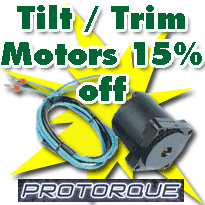 Trim Tilt Motors 15% off